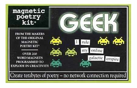 Magnetic Poetry Kit: Geek