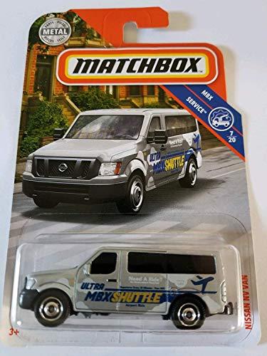 Matchbox 2019 Basic Mainline MBX Service - Nissan NV Van (Airport -