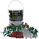 Army Men Modern Warfare Action Figures- Over 65 Piece of Current Military Soldiers and Artilleries