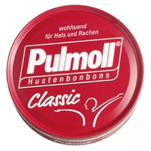 3x Pulmoll Classic 75g (German - Lozenges Honey 75