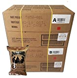 ULTIMATE MRE Case A and Case B Bundle 24 Meals with 2018 Inspection Date. Military Surplus Meal Ready to Eat with Western Frontier s Inspection and Guarantee.
