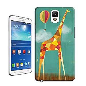 BreathePattern-462.Too Tall Giraffe Plastic Protective Case-Samsung Galaxy note3 case