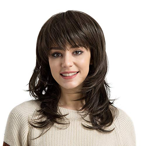 Inkach Curly Long Wig | Womens Heat Resistant