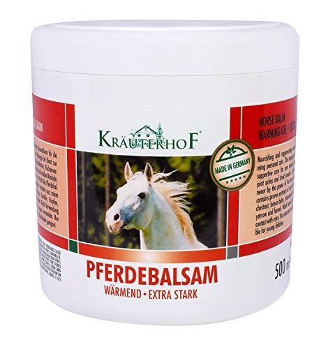 Krauterhof 2197 - Balsamo para caballos (extrafuerte, 500 ml)