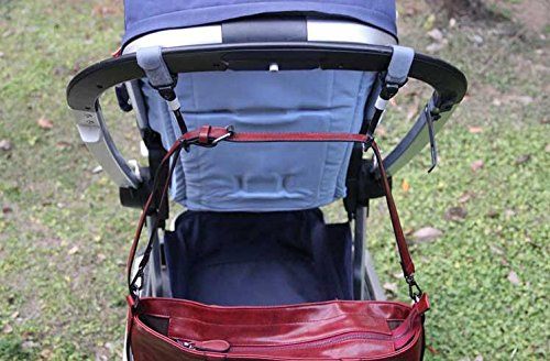 Heavy Duty Moms Best Baby Two Pack 100/% Guaranteed New Durable Stroller Hooks with Secure Black Velcro Strap 360 /& 180 Degree Swivel Double Hook Design