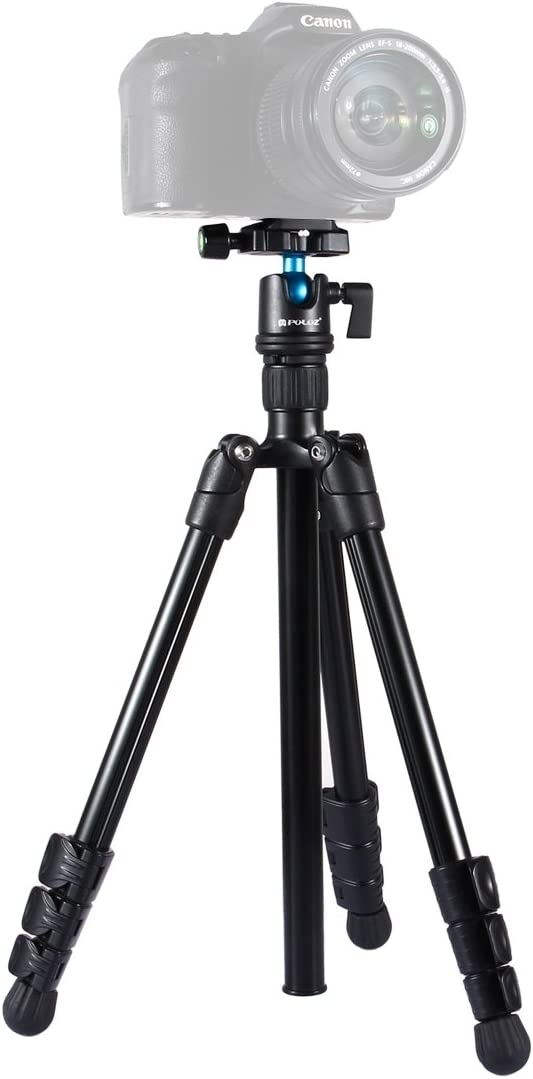 Aosituop Tripods 4-Section Folding Legs Metal Tripod Mount with 360 Degree Ball Head for DSLR /& Digital Camera 42-130cm Adjustable Height