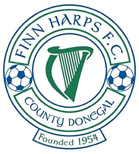 Finn Harps Ireland Soccer Football - Sticker Graphic - Auto Wall Laptop Cell Truck Sticker - Easy Stick Sticker Graphic