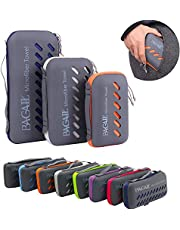 BAGAIL Microfiber Towel Perfect Sports & Travel &Beach Towel. Fast Drying - Super Absorbent - Ultra Compact. Suitable for Camping, Gym, Beach, Swimming, Backpacking