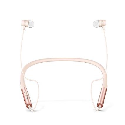 Energy Sistem Neckband 3 - Auriculares Bluetooth con Diseño ergonómico, Color Rose (Gold)