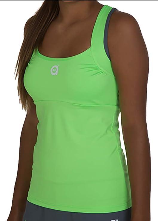 a40grados Sport & Style, Camiseta Trass (Color Verde Lima), Mujer ...
