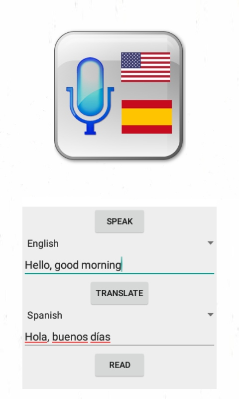 Amazon com: Speak and Translate to Spanish: Appstore for Android