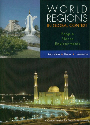 World Regions in Global Context: Peoples, Places, and Environments by Sallie A. Marston (2008-01-03)