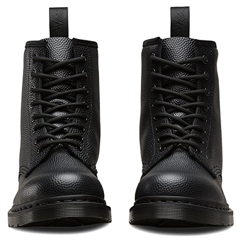 1460 Leather martens Black Pebble 8 Dr Boots Womens Eyelet AHUwWOq