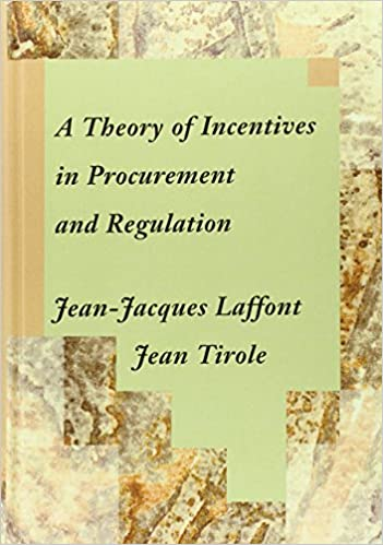 A theory of incentives in procurement and regulation mit press a theory of incentives in procurement and regulation mit press 9780262121743 economics books amazon fandeluxe Image collections