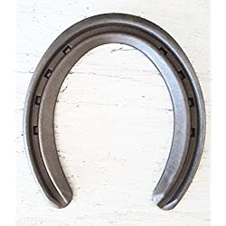 The Heritage Forge - 20 Horseshoes - Lite Rim - Sand Blasted Steel Size 1