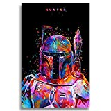 Faicai Art Star Wars Paintings Colorful Abstract