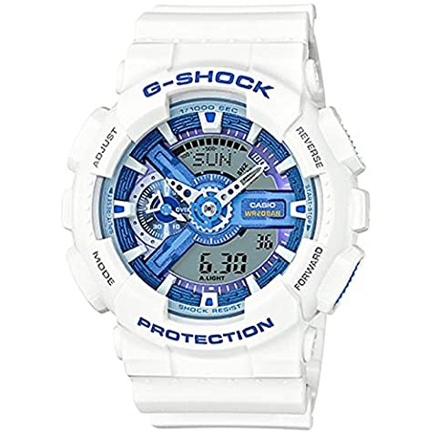 G-Shock GA-110WB-7A White and Blue Series Watches - White/Blue / 1 Size (Blue G Shock Men)
