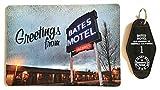 Bates Motel Key Chain and Greetings Post Card