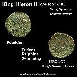 274 GR King Hieron II 274 BC%2E Poseidon
