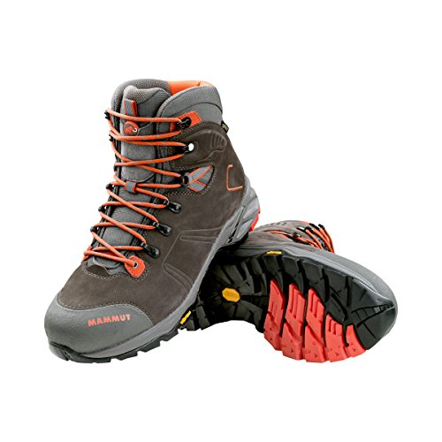 Mammut Herren Wander-Schuh Ultimate Pro Low GTX Trekking-& Wanderstiefel Grau (Bark-Dark Orange 0574)
