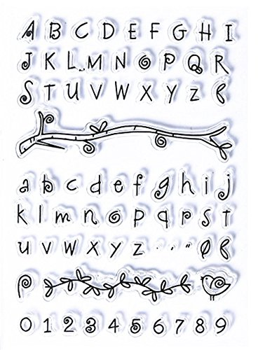 Layhome Alphabet Clear Stamp (#3) ()