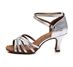 sports shoes 69921 23921 HROYL Donna I7-213 Raso Scarpe da Ballo Latino