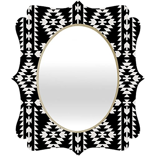 - Deny Designs Holli Zollinger Geo Panel Baroque Mirror