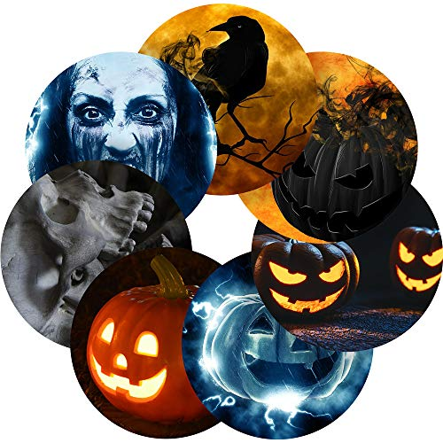 (Halloween Spooky Reward Sticker Labels, 35 Stickers @ 1.4