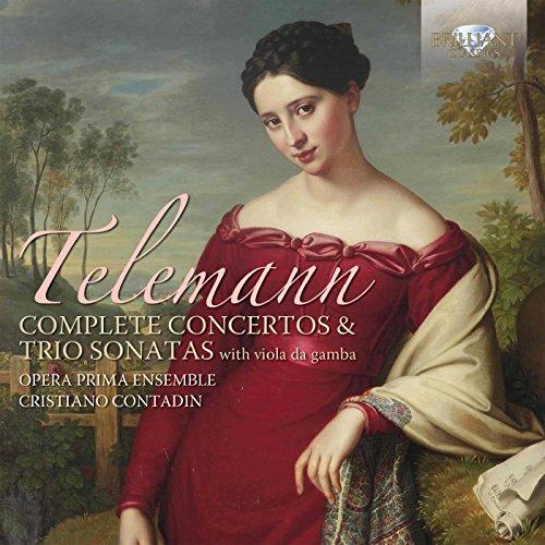 Telemann: Complete Concertos and Trio Sonatas with Viola da (Complete Trio Sonatas)