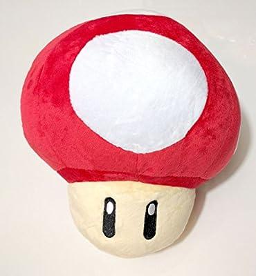 Super Mario Brothers Red Mushroom 8 Inch Plush Amazon Com