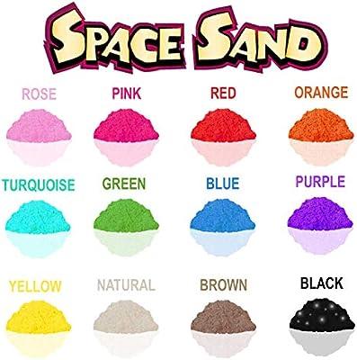 Original Beach Sand 1Kg Muchos Colores Verde Space Sand