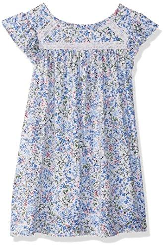 Girl White Lace Dress - Nautica Girls' Toddler' Short Sleeve Fashion