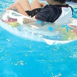 Amazon ドウシシャ 浮き輪 レインボーサマー 80cm 浮き輪 おもちゃ