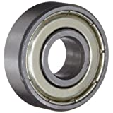 BC Precision 696ZZ Sealed Bearings 6x15x5 Ball Bearings/Pre-Lubricated- Bearings