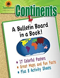 Continents: A Bulletin Board in a Book!
