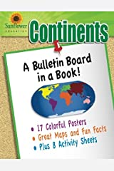 Continents: A Bulletin Board in a Book! Paperback