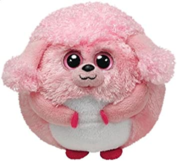 b5fba486529 Amazon.com  Ty Beanie Ballz Plush Pink LOVEY THE POODLE Ball ~NEW~ PRS   Toys   Games
