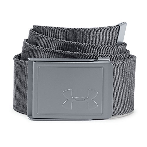 Price comparison product image Under Armour Boys' Printed Belt, Rhino Gray (076)/Rhino Gray, One Size