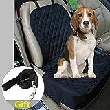 C&D Pet Bucket Seat Cover, Nonslip Single Seat Cover Waterproof Pet Front Seat Cover Dog Seat Protector-Universal Design for All Cars, SUVs & Trucks 4020 Inch (Black)