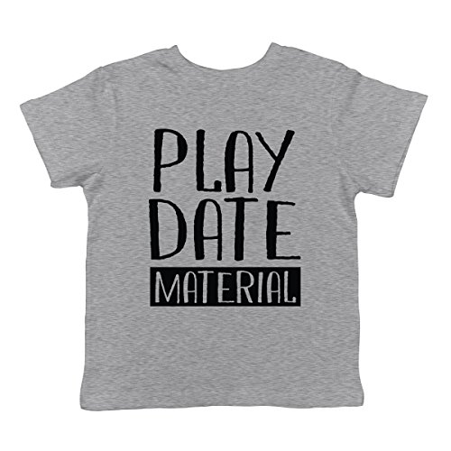 Playdate Material Infant T-Shirt, SpiritForged Apparel Light Gray 18 - Top Mr Muffin