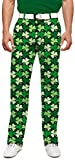 Loudmouth Golf Mens Pants - Sham Totally Rocks StretchTech - Size 38x32