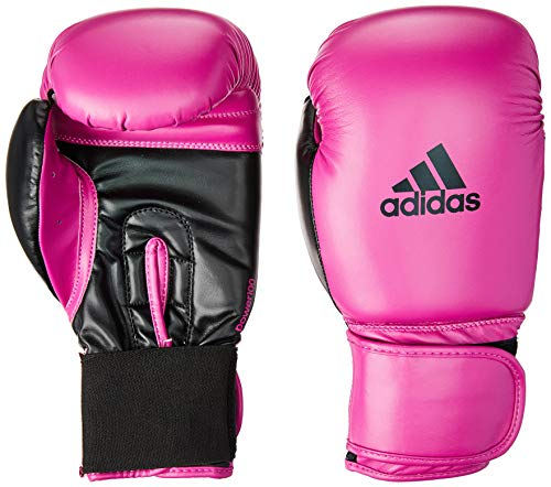 Luva Power 100 SMU Colors, 12 OZ, Adidas, Rosa