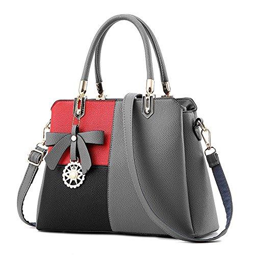 Aoligei Capacité sac sac grande femme pack croix diagonale de simple sac à main épaule seule l'orthographe A