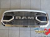 2015 ram grill - 2015-2016 Dodge Ram 1500 Chrome Laramie Limited Front Grille Mopar OEM