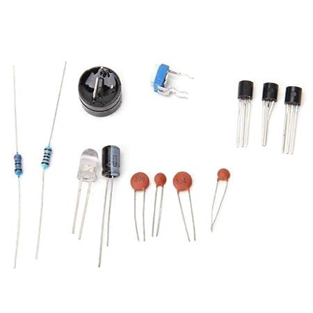 Yongse DIY del detector de metales Kit de caza del tesoro Instrumento de Garantía Aparato palo: Amazon.es: Electrónica