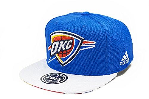 Oklahoma City Thunder Adidas 2015 NBA Draft Day Authentic Snap Back Hat