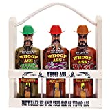 WHOOP ASS Premium Bacon, Green Habanero, and Roasted Garlic Hot Sauce Gift Set -Try if you dare! – Perfect Gourmet Gift for the Hot Sauce Fan