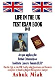Life in the UK test exam book 2018