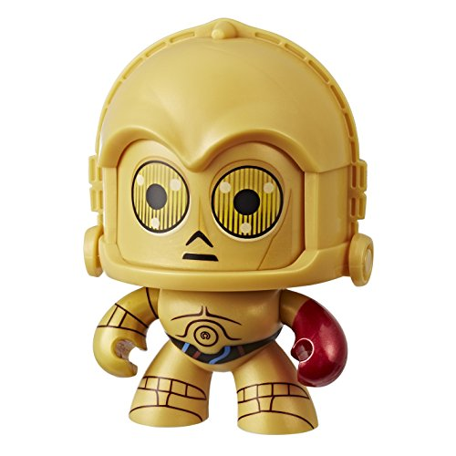 Mighty Muggs - Star Wars E8 C3Po (Hasbro E2185ES0) , color/modelo surtido