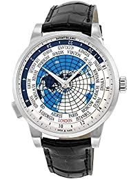 Heritage Spirit Orbis Terrarum World Map Automatic Mens Watch 112308. MONTBLANC